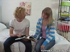 Tube8 Movie:Blond and blonde fuck hot