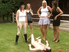 Posh girls strip and h...