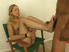 interracial, blonde, big-tits, mature, blowjob, fetish