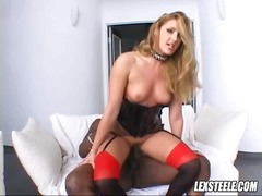 busty, milf, oral, fishnets, hard, sucking, afro, reverse, blowjob, mom, stockings, big-dick, blow, cock-riding, interracial, big-tits, face-fucking, ball-gag, rough