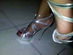 Ebony shoejob