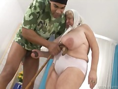 Over Thumbs Movie:Watch this granny with huge am...