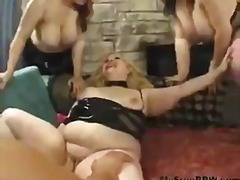 BBW STRAPON PARTY video