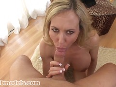 Blonde Cougar POV Blowjob