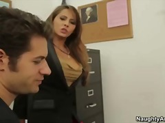 Madison Ivy is a busty...