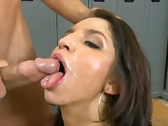 Over Thumbs Movie:The cumshots compilation on th...