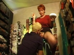 WinPorn Movie:Busty mature redhead has a smo...