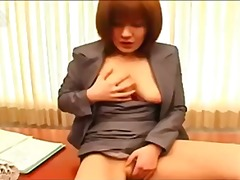 See: Sexy office lady Anna ...