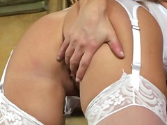 Yobt TV Movie:Taylor vixen bride in white ny...