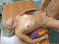 SKINNY BLONDE PRETTY M... video