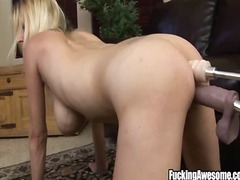 face-fucking, dildo, anal, t.y., blonde
