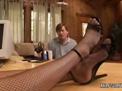 ProPorn Movie:Hot Blonde MILF Dishes Out Her...