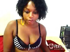 webcam, horny, ebony, tits, big-tits