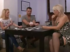 STRIP POKER LEADS TO P...