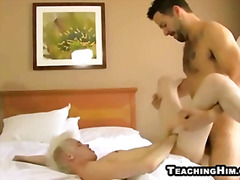 Twink getting his ass ...