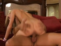 See: Busty blonde caught ma...