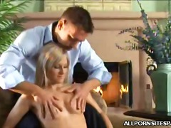 blowjob, blonde,