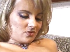 Nick East starts with this blonde's nipples, goes down on her and he gets his dick sucked