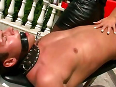 cumshot, leather, bizarre, fetish