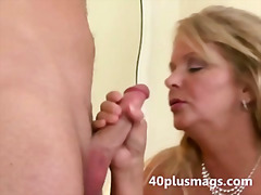 wife, blonde, fat, mature, milf