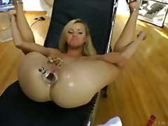 toy, anal, blonde, toys,
