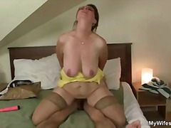 mom, blowjob, oral, old, hardcore, granny