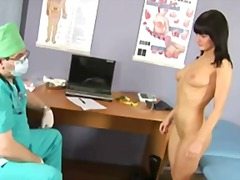 Tube8 Movie:Sexy brunette babe passes spec...