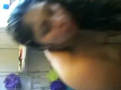 Indian Wife Taking Shower video
