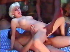 mature, interracial, threesome
