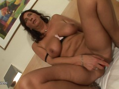 Yobt Movie:Kinky mature gal playing invol...