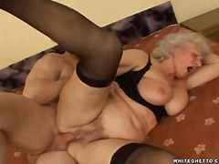 Awesome grandmother ha... video