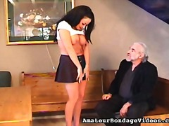 ProPorn Movie:Spanking for a naughty brunette