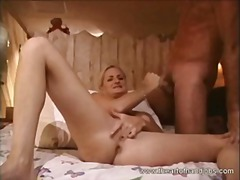 Keez Movies Movie:Hot blonde rubs her clit and g...