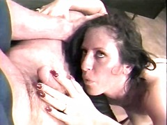 Thumb: Brunette slut getting ...