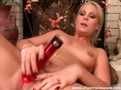 Sensual blonde minx wi... video