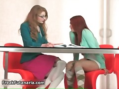 Sexy redhead and blonde ba... - 05:11