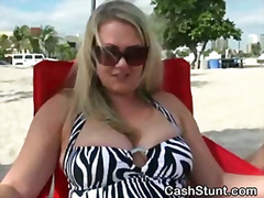 big-tits, public, outdoors, blonde, beach