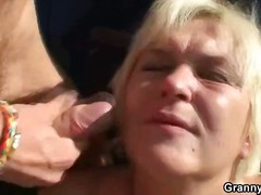 hardcore, outdoors, blowjob, blonde