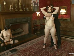 Over Thumbs Movie:Service Session: Slaves in Bon...