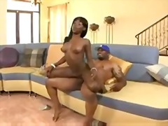 cock-riding, ebony, hardcore