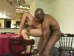 big-tits, interracial, black,