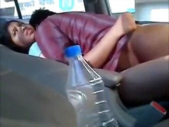 Indian Females Gets Fucked Inside A Back Seat