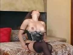 BUSTY MILF TEASES IN S... video