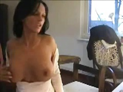 AlotPorn - Rubbing her pussy in f...