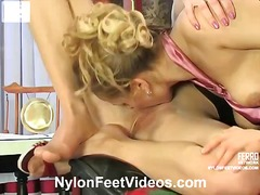 Yobt TV Movie:Marion and Susanna nice nylon ...