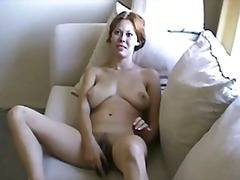 WIFEY CASSIE SCREWING HAIRY PUSSY WITH SEX TOYS