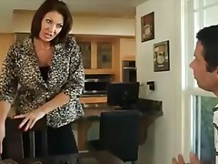 pornstar, pussy-licking, ass, footjob, cougar, milf, stockings, seduced