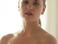 luxury blonde making b... video