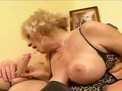 GrannyThreesome By TROC video