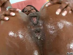 interracial, analfuck, sex-toys, ebony